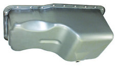 SB Ford SBF Raw Un-plated Steel Front Sump Oil Pan 289 302 5 Qt Mustang W/ Bolts