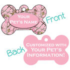Pink Realtree Camo Double Sided Pet Id Dog Tag Personalized for Your Pet