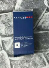 CLARINS Men Anti-Fatigue Eye Serum, Anti-Dark Circles, Anti-Aging 20ml/0.6oz New