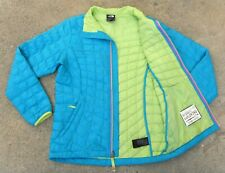 The North Face THERMOBALL Puffer Jacket Girl's L 14 / 16 Mint blue