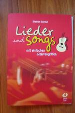 Schmidt. Lieder und Songs mit einfachen Griffen - Gitarre/Akkordeon/Keyb Dux 855