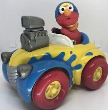 Tyco Preschool Toys 1998 Elmo Pull Back & Go Hot Rod Race Car Toy Sesame Street