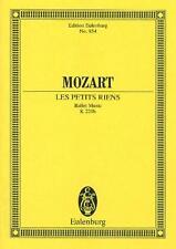 Mozart: Les petits riens Ballet Music (Study Score) ETP854