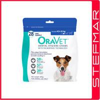 Oravet Dental Chews Small 28Pack for Dogs 4.5-11kg