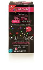 50 Pin Wire LED Battery Operated Multi Coloured Lights
