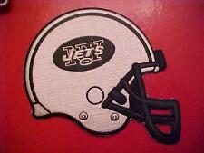 """New York JETS  5""""x 4.5"""" Embroidered HELMET PATCH"""