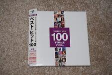 Rare Japan 5CDs Box Set - The Best Hits 100 Female Vocal