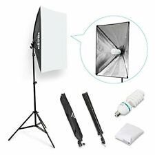 "ESDDI 20""X28"" Softbox Portable Photography Lighting Kit Photo Equipment Studio"