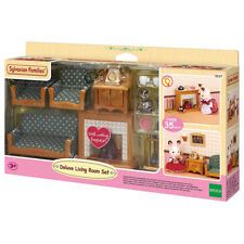 Sylvanian FAMILIES Deluxe salon ensemble de meubles poupées 5037