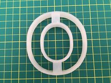 Alphabet Letter O cookie cutter