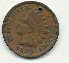 1859-1909 Indian Head Cents  (1888 over 7)  sku#47289