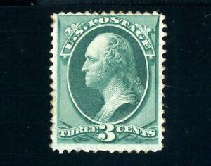 USAstamps Unused VF US 1879 Bank Note Washington Scott 184 OG MHR