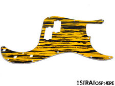 * NEW Tawny Stripe PICKGUARD for Fender Precision P Bass 3 Ply Standard