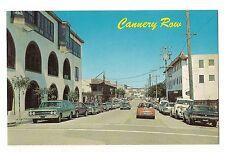 CANNERY ROW Shops Street Scene Vintage Cars Monterey CALIFORNIA Postcard CA