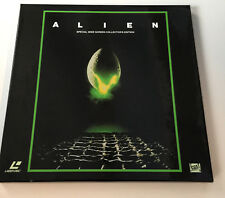 Laserdisc Alien Special Widescreen collector's edition boxset insert