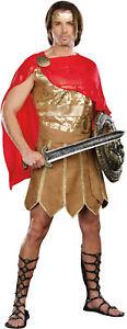 Julius Caesar Ceasar Roman Gladiator Adult Mens Costume Warrior Party Halloween
