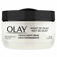Olay Night of Olay Firming Night Cream Face Moisturizing 1.9 fl oz