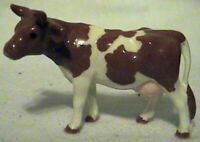 VINTAGE HAGEN RENAKER GUERNSEY BROWN AND WHITE COW