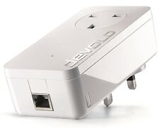 DEVOLO 9371 POWERLINE DLAN 1200 PLUS ETHERNET SINGLE ADD-ON ADAPTER, OUT OF BOX
