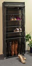 Meuble à Chaussures Armoire à étagère pliable Plateau de tissu avec 7 Dépôt