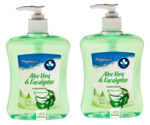 Hygienics | ALOE VERA & EUCALYPTUS | Hand Wash 2 x 500ml