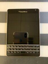 BlackBerry Passport -32Gb -Black -Unlocked -Locked for Parts Only *Read*
