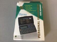 COLLECTABLE VINTAGE OREGON SCIENTIFIC calculator alarm calender,back light