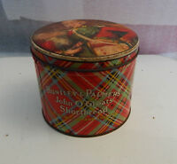 Vintage Huntley and Palmers John O Groats shortbread tin Reading and london Eng