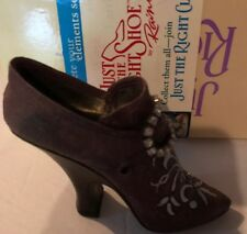 "Just The Right Shoe By Raine ""Bordeaux� 25022"