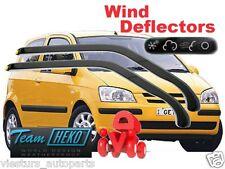 HYUNDAI GETZ 3D 2002 Wind deflectors 2.pc  HEKO 17229  for FRONT DOORS