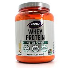 NOW Foods NOW Sports Whey Protein Powder - Creamy Vanilla - 2 lbs