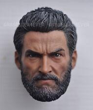 custom Head Sculpt 1/6 scale Hugh Jackman X-Men Wolverine Logan3