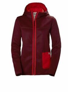 Helly Hansen Women's Verket Reversible Pile Jacket, Red/Orange, Size L/G