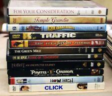 Lot of 11 Dvds Action Thriller Comedy Tom Hanks Adam Sandler Johnny Depp