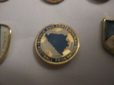 BOSNIA & HERZEGOVINA FOOTBALL ASSOCIATION ENAMEL PRESS PIN BADGE