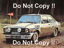 El Señor Vatanen nos Ford Escort RS1800 Mintex Rally 1980 fotografía