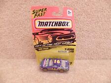 1992 Matchbox NASCAR 1:64 Scale Diecast Racetech Ford Thunderbird Stock Car #16