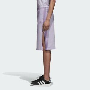 Adidas Women's Three-Stripe Skirt Purple Glow Size S $55