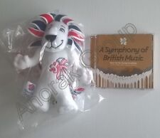OFFICIAL OLYMPICS Team GB 2012 Lion Mascot Toy +Closing Ceremony Music 2-Disc CD
