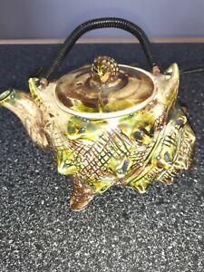 Vintage teapot ceramic shell