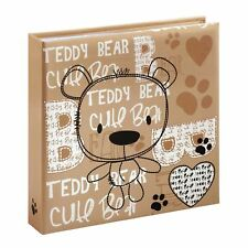 "Hama Bernd Baby Bear Slip-in Photo Album for 6""x4"" 10x15 cm Photos #2174 (UK)"