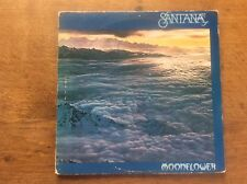 SANTANA MOONFLOWER 1977 CBS UK G/FOLD VINYL 2LP SET + INNERS Double LP