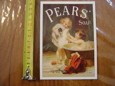 carte publicite PEARS SOAP Puppy Love series
