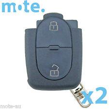 2 x Audi A2 A3 A4 A6 2 Button Remote Key Bottom Part Shell/Case/Enclosure