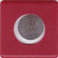 10 Pfennig Braunschweig 1920 Eisen Herzogtum Kriegsnotgeld Notgeld Brunswick N3a