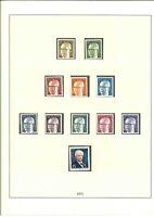 Berlin Sammlung 1971-1984 postfrisch ** - Lindner T Vordruckalbum mit Ringbinder