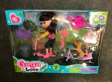 Scooter Doll Gagalove With Scooter Dog And accessories
