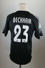 Real Madrid Trikot Gr. S 2004-2005 Away #7 Beckham Adidas jersey Spanien Siemens