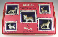 WADE WHIMSIES SET 7, (PEDIGREE DOGS), 7, 1957