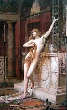 Oil painting Waterhouse - Hypatia Greek mathematician, astronomer, philosopher